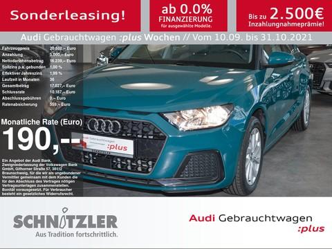 Audi A1 Sportback 25 TFSI Advanced EPH SHV