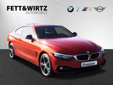 BMW 440 i Coupe Sport Line 19