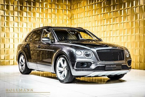 Bentley Bentayga V8 22inch Wheels City