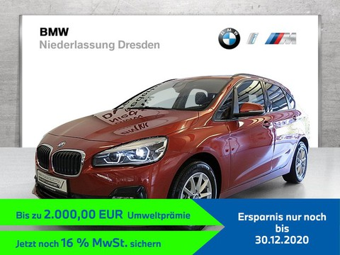 BMW 216 i Active Tourer unter UPE RTTI