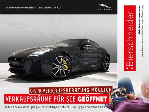 Jaguar F-Type Coupe SVR TOP-LEASING