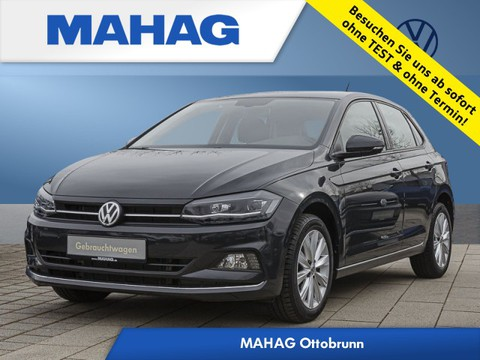 """Volkswagen Polo 1.6 TDI """"Highline"""" Euro 6c(AD) Discover Media 6x16 Reifen 195 55 16"""