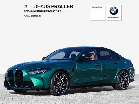 BMW M3 Limousine Competition G80 2021 Laserlicht Carbon Interieur
