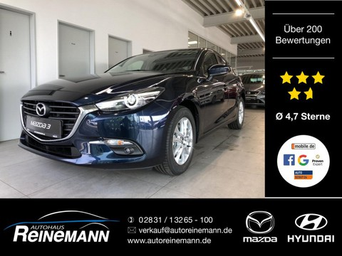 Mazda 3 5T Exclusive-Line vo & hi Licht Head-u