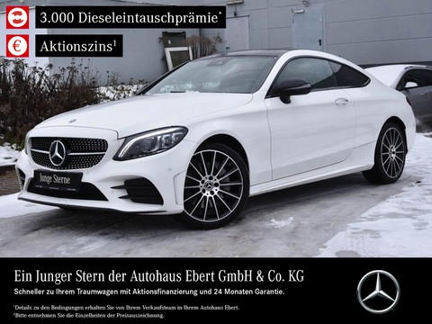 Mercedes-Benz C 400 Coupe AMG NIGHT HIGHEND PSD