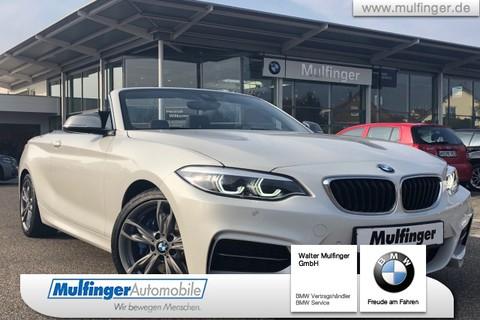 BMW M240i Cabrio Lenkradh Har Kard DrivAs