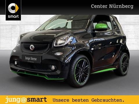 smart ForTwo cabrio 60kWed prime BRABUS greenflash