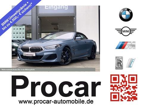 BMW 850 xDrive Cabrio B&W DA Prof Laserlicht