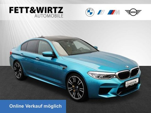 BMW M5 xDrive NightVis TV Sitzbel B&W