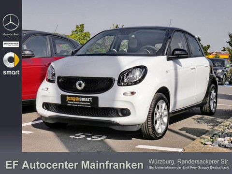 Smart ForFour passion white star