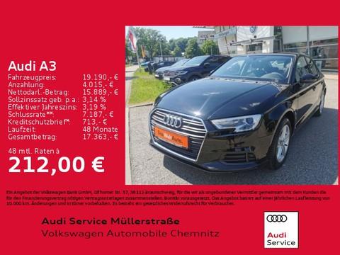 Audi A3 35 TFSI Limousine basis