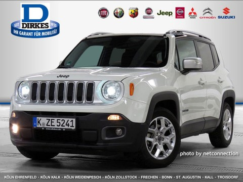 Jeep Renegade 1.4 Multiair Limited AUTO SCHWARZ