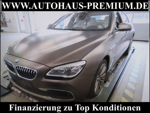 BMW 640 d xD INDIVIDUAL M LENKRAD HUP WEISS