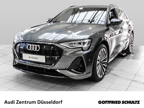 Audi e-tron 55 quattro Elektro Optik Schwarz allem drin