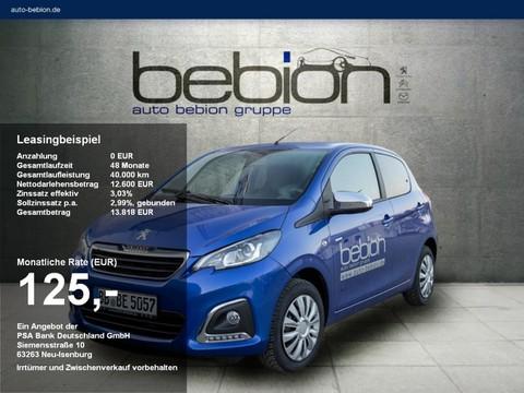 Peugeot 108 Style VTI 72 Blu
