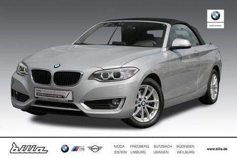 BMW 220 i Cabrio Advantage
