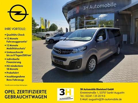 Opel Zafira Life VivaroCombi Sichtpaket