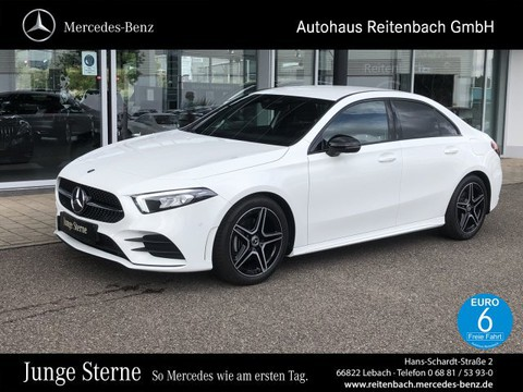 Mercedes-Benz A 200 LIMO AMG AMBIENT WIDESCR