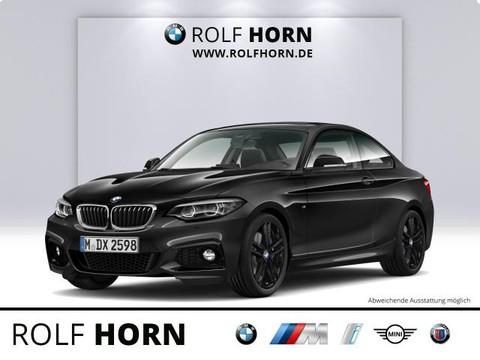 BMW 225 dA Coupe M Sportpaket h&k