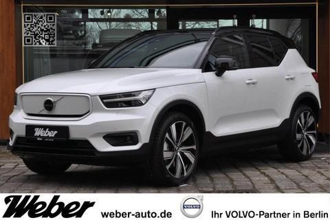 Volvo XC 40 P8 AWD Recharge Pure Electric lavaorange