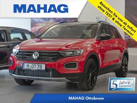 "Volkswagen T-Roc 2.0 TDI Sport ""Black Style"" Anschl gar Light Front Lane Fahrwerk el 8x19 Reifen 225 40 19"