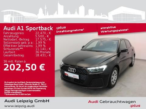 Audi A1 Sportback 30 TFSI Audi front