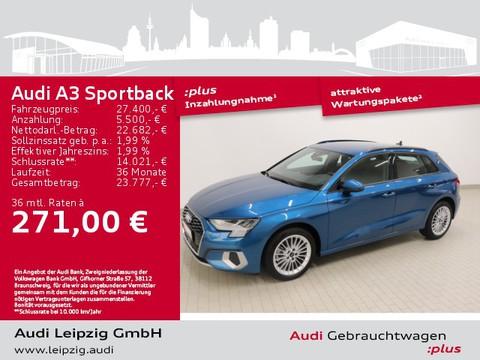 Audi A3 Sportback 30 TFSI advanced front