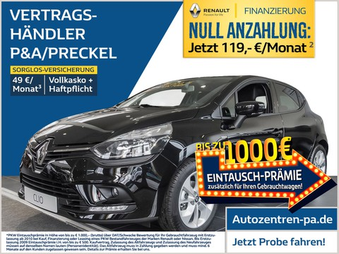 Renault Clio LIMITED TCe 75 Deluxe-Paket