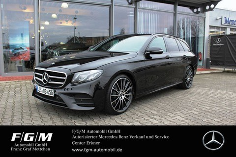 Mercedes E 350 d T AMG-Line Com Night Burmes