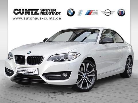 BMW 220 i Coupé Sport Line Prof