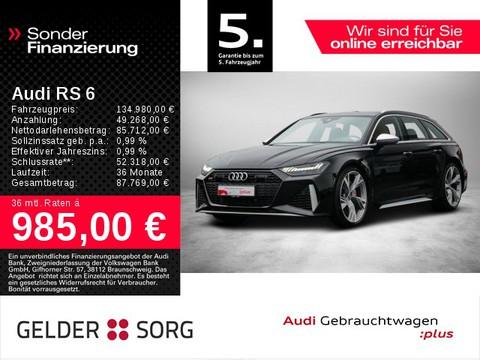 Audi RS6 4.0 TFSI qu Avant HEAD ABGAS
