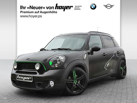 MINI Cooper S Countryman ALL4 Red Hot Wired Chili
