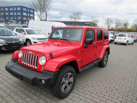 Jeep Wrangler Unlimited Sahara MY18 Dual Top