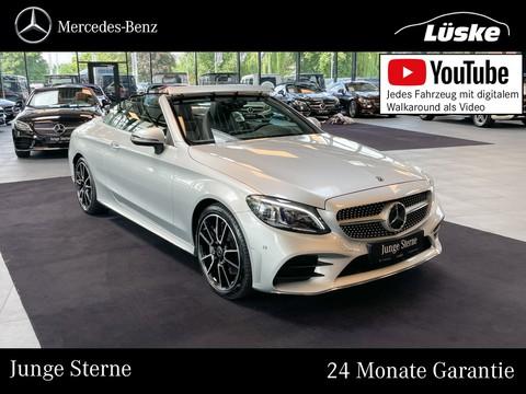 Mercedes-Benz C 300 Cabrio AMG Line Burmester Assisten