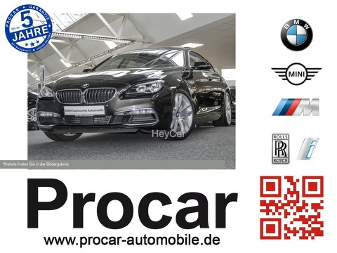 BMW 640 Gran Coupe GranCoupe 19 Komfrtsitze NavProf TOP