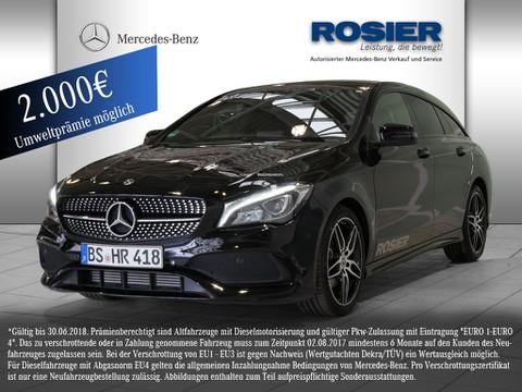 Mercedes CLA 180 SB AMG Line Night Bluet