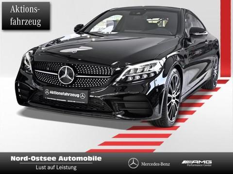 Mercedes-Benz C 200 Coupé AMG NIGHT 19Z DIGITALES
