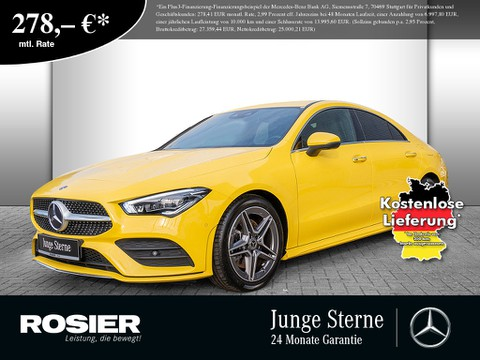Mercedes-Benz CLA 200 Coupe AMG Line