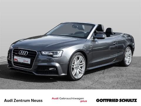 Audi A5 2.0 TDI quattro Cabriolet CLIM VO HI MUFU REGS S line
