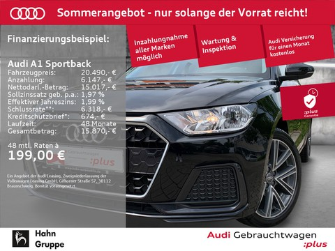 Audi A1 Sportback 25TFSI EU6d advanced plus