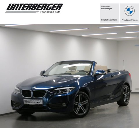 BMW 218 i Cabrio Advantage HiFi