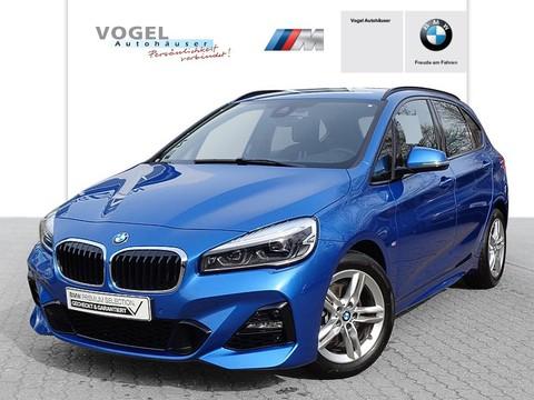 BMW 218 i Active Tourer Modell M Sport Estoril Blau metallic Lichtpaket