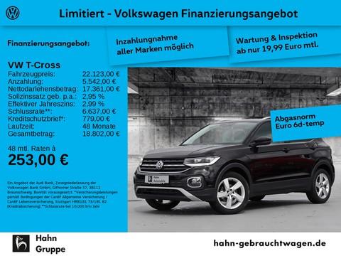 Volkswagen T-Cross 1.0 TSI Style Einpark