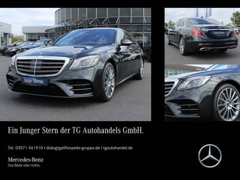 Mercedes S 400 d L AMG Line SITZKLIMA