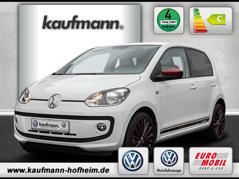 Volkswagen up 1.0 l colour fortana red
