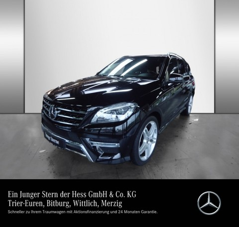 Mercedes ML 400 AMG Line Active Curve Of