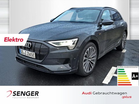 Audi e-tron advanced 55 quattro Top View 21