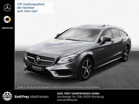 Mercedes-Benz CLS 350 SB d AMG Night MBeam HiFi Schbd Sitzklima