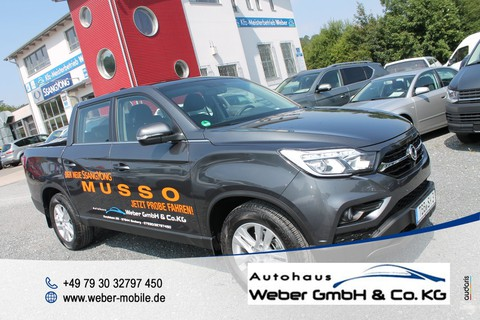 Ssangyong MUSSO 2.2 e-XDi 220 Sapphire Sperr Diff