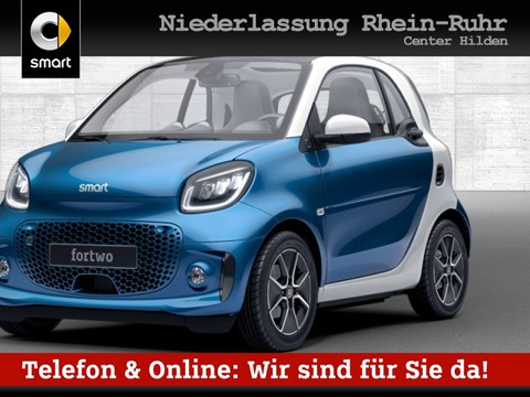 smart ForTwo EQ 60kWed passion